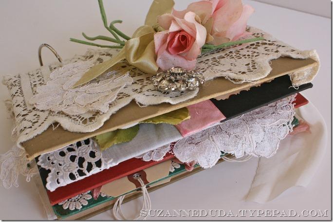 Diy Vintage Book Cover : Diy friday vintage journal pink roses