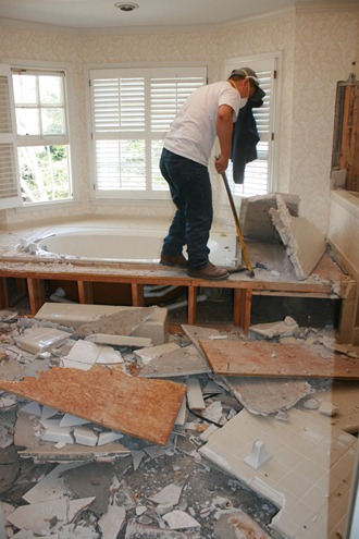 Image result for bathroom remodel construction