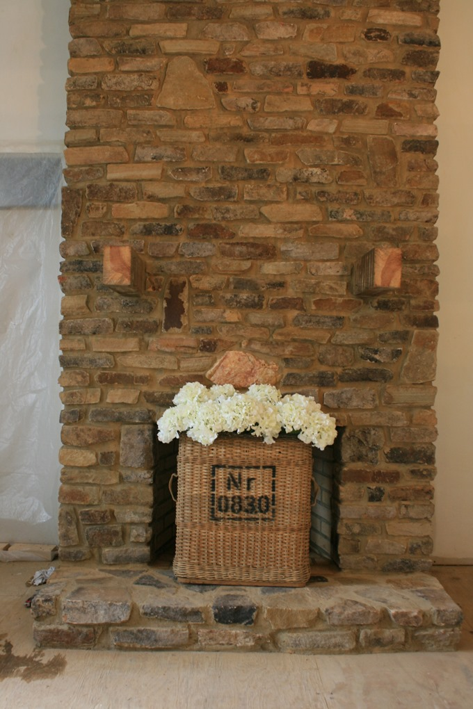 fireplace makeover: family room... - Pink Roses
