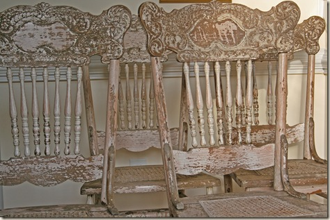 shabby chairs